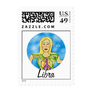 Libra Postage Stamps