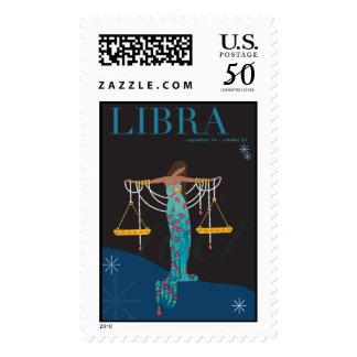 Libra Postage Stamp