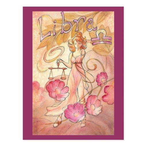 Libra Postcards