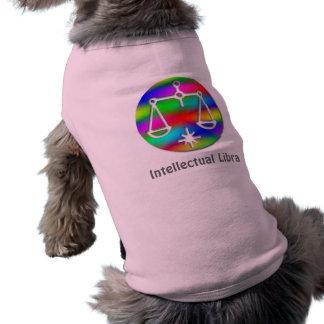 Libra Rainbow Scales Zodiac Star Sign T-Shirt