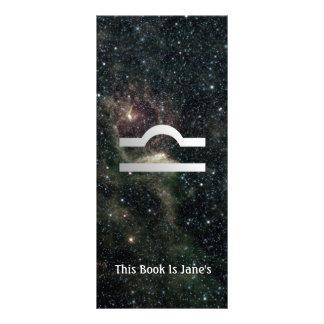 Libra Scales Zodiac Star Sign Universe Bookmark Rack Card