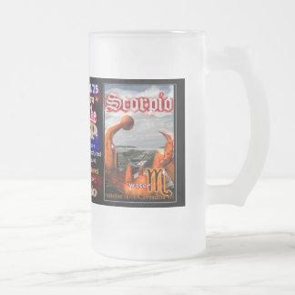 Libra Scorpio cusp astrology tall glass Mug
