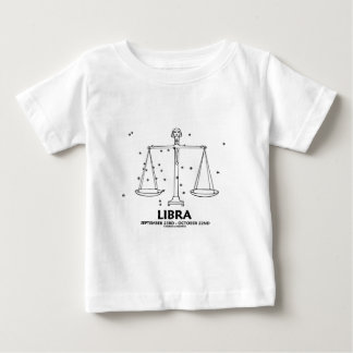 Libra (September 23rd - October 22nd) Baby T-Shirt