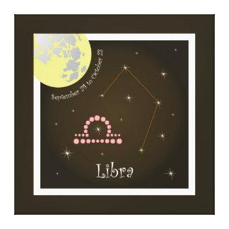 Libra September 24 tons of October 23 canvas Canvas Prints