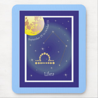 Libra September 24 tons of October 23 mouse PADs