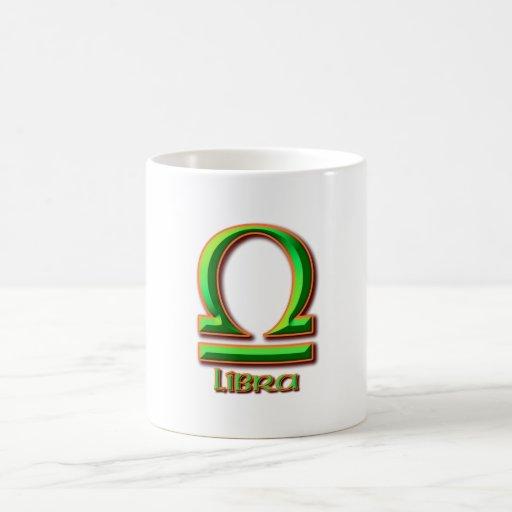 Libra Taza