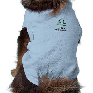Libra the balance pet shirt