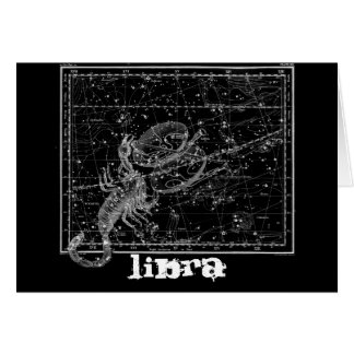 Libra, the Scales Card