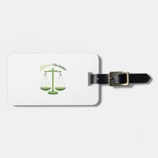 Libra-The Scales Travel Bag Tags