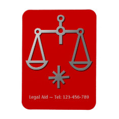Libra The Scales Silver Zodiac Star Sign Magnet at Zazzle