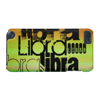 Libra; Vibrant Green, Orange, & Yellow iPod Touch (5th Generation) Cover