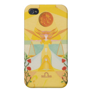 Libra Watercolor iPhone case by Mar Gimeno iPhone 4/4S Cover