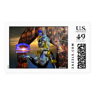 LIBRA WITH CYBER ATHENA POSTAGE