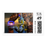 LIBRA WITH CYBER ATHENA POSTAGE STAMPS