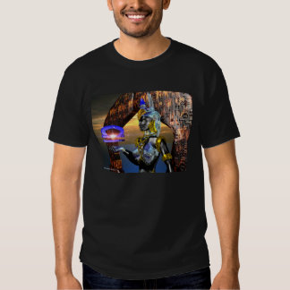 LIBRA WITH CYBER ATHENA TEE SHIRT