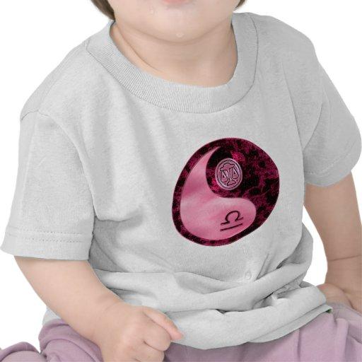 Libra Yin Yang Camiseta