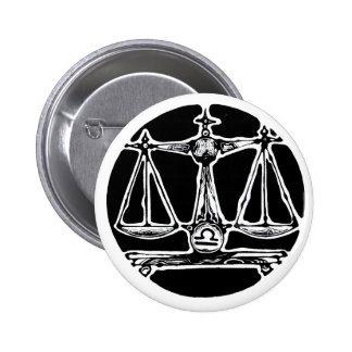 Libra - Zodiac Badge Button