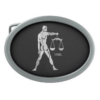Libra Zodiac Belt Buckle
