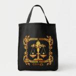 Libra-Zodiac-Design-1 Tote Bag