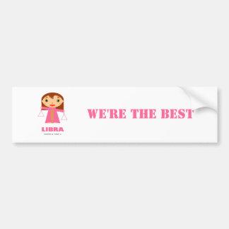 Libra Zodiac for Kids Bumper Sticker