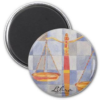 Libra Zodiac Magnet