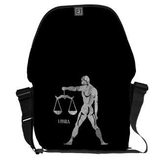 Libra Zodiac Messenger Bag