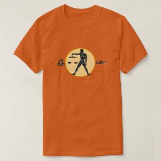 Libra Zodiac Opal color Designer T-Shirt