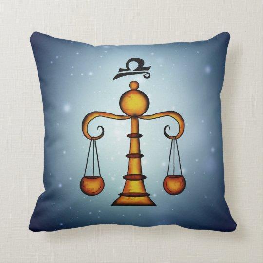 libra zodiac pillow