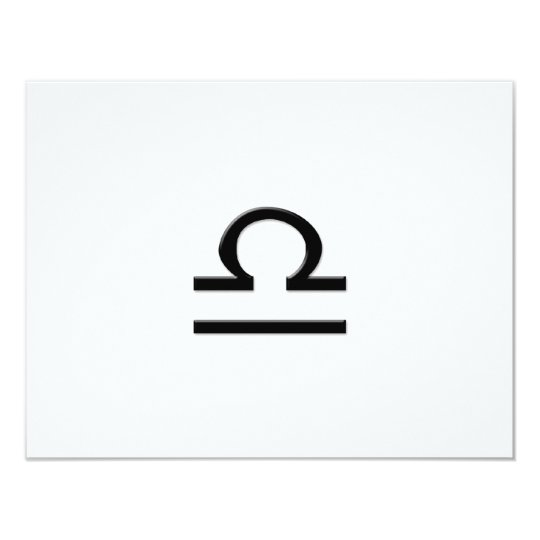Libra - Zodiac Sign Card