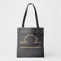Libra Zodiac Sign | Custom Background Tote Bag