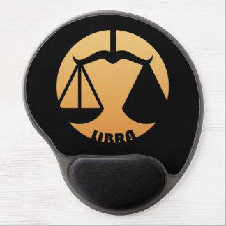 Libra Zodiac Sign Gel Mouse Pad