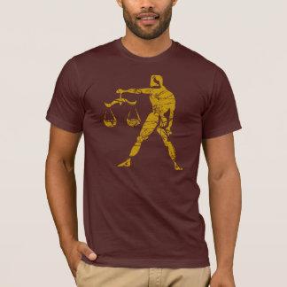 Libra Zodiac Sign Grunge September 23 - October 22 T-Shirt