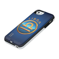 Libra Zodiac Sign iPhone SE/5/5s Battery Case