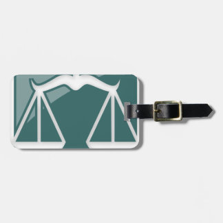 Libra Zodiac Sign Travel Bag Tags