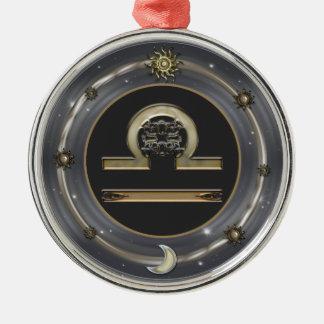 Libra Zodiac Sign Ornament