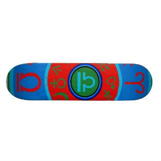 Libra Zodiac Skateboard