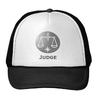 Libra Zodiac Star Sign Silver Premium Trucker Hat