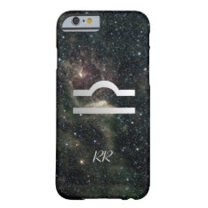 Libra Zodiac Star Sign Universe Barely There Iphone 6 Case at Zazzle