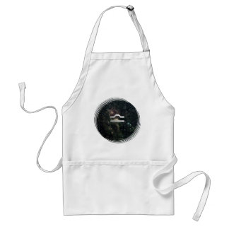 Libra Zodiac Star Sign Universe Crafts Cook Chef Adult Apron