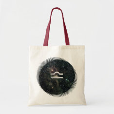 Libra Zodiac Star Sign Universe Crafts & Shopping Tote Bag at Zazzle