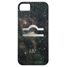Libra Zodiac Star Sign Universe Iphone Se/5/5s Case at Zazzle