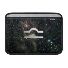 Libra Zodiac Star Sign Universe Sleeve For Macbook Air at Zazzle