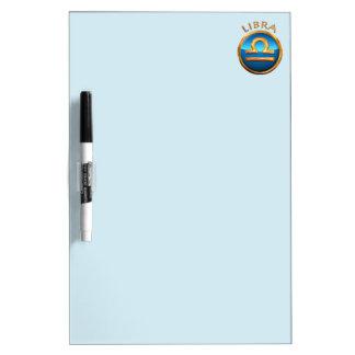 Libra Zodiac Symbol Dry Erase Board