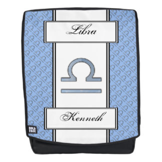 Libra Zodiac Symbol Element by Kenneth Yoncich Backpack