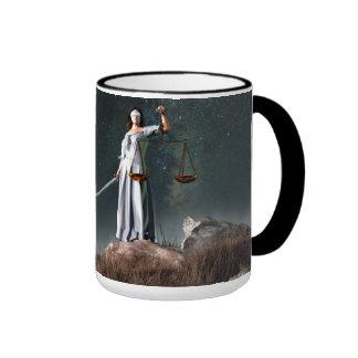 Libra Zodiac Symbol Mug