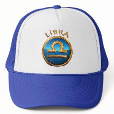Libra Zodiac Symbol Trucker Hat