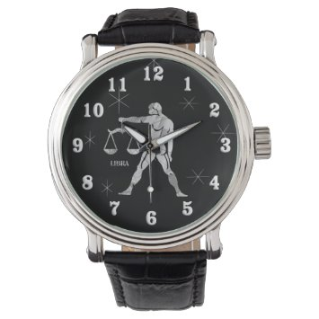 Libra Zodiac Wrist Watch