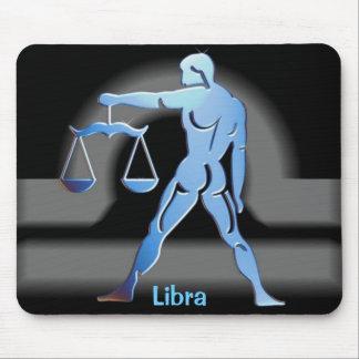 Libra - zodiaco Mousepad