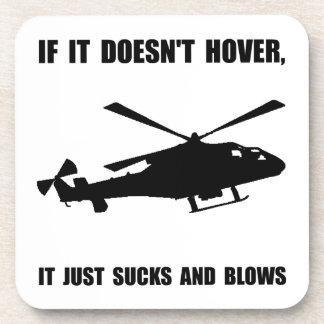 Libración del helicóptero posavasos