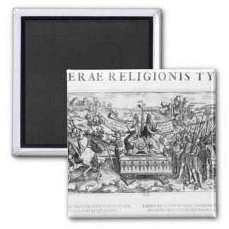 Librae Religionis Typus', allegory Refrigerator Magnets